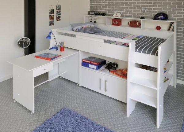 SWAN halvhøy seng