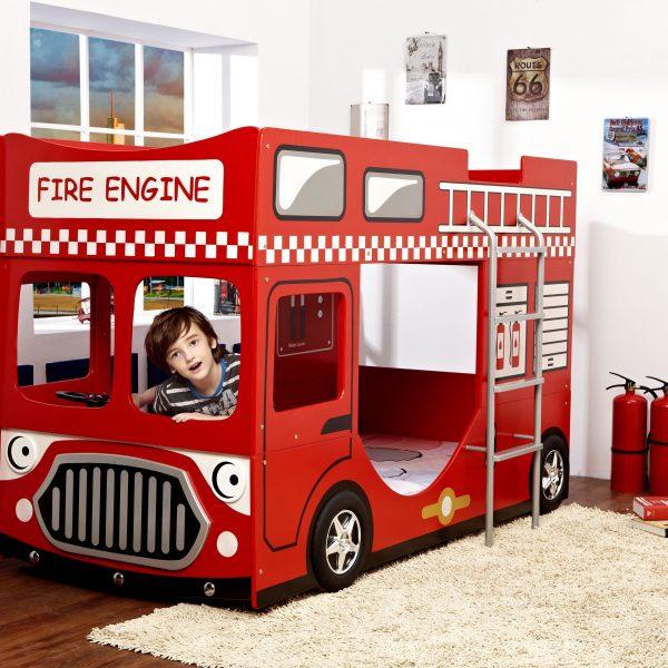Brannbil køyeseng