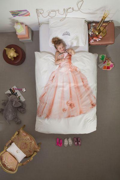 Snurk sengesett princess pink