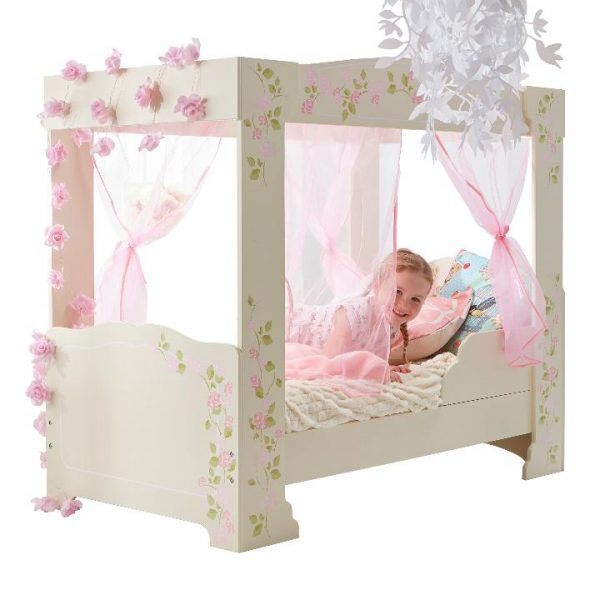Rose 4 poster bed