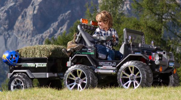 Elektrisk bil for barn Peg Péregeo Gaucho Superpower 24V elektrisk bil