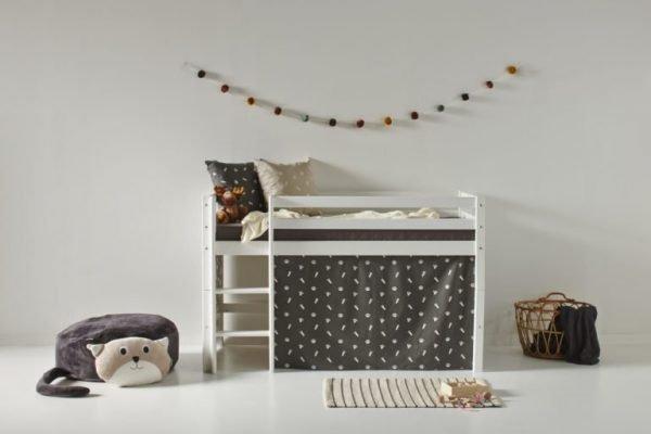 hoppekids 70x160 halvhøy seng