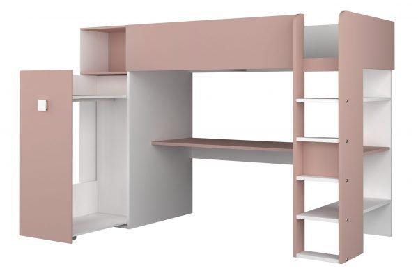 etasjeseng med skrivebord