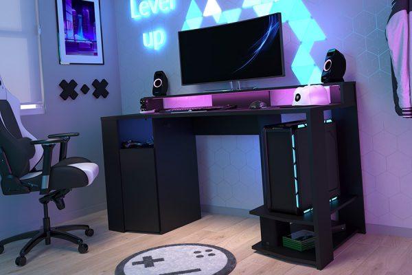 Gamingbord-med-led-lys