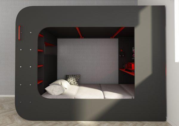 cube seng med pult