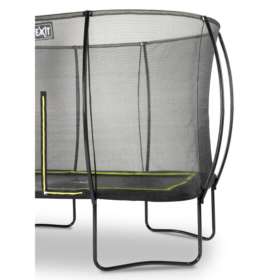 trampoline med sikkerhetsnett