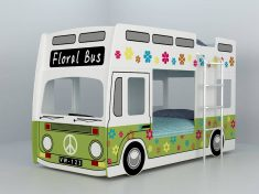Køyeseng med buss design