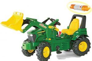 Tråtraktor John Deere 7930 traktor med gir og brems